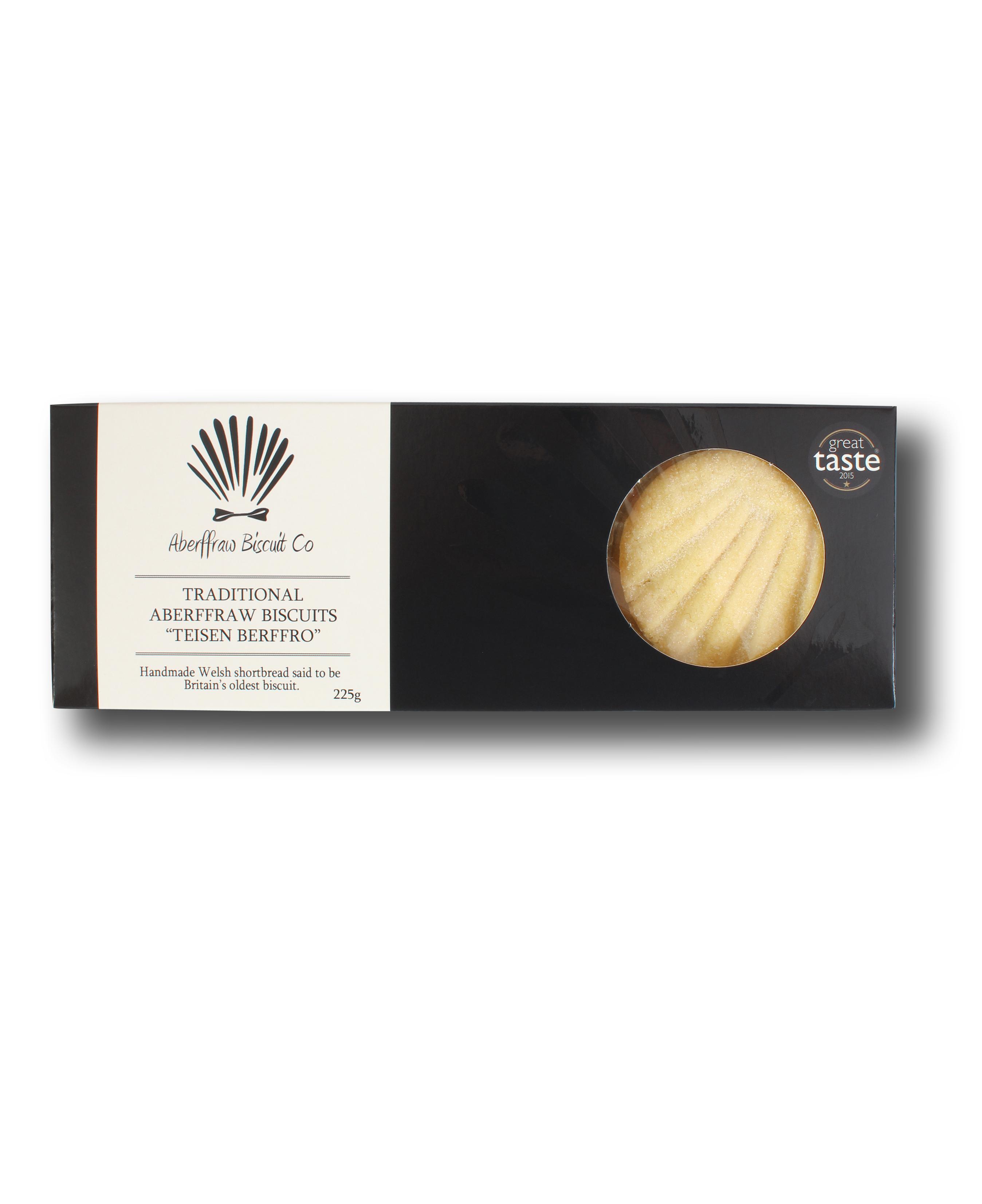 Traditional Aberffraw Biscuit 225g
